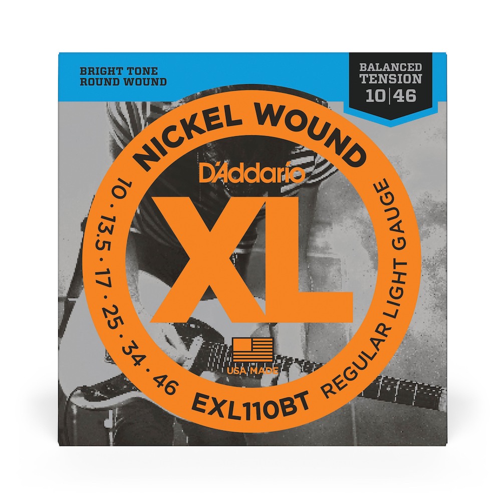 D'Addario Balanced Tension Nickel Wound EXL110BT Reg Light (10-46)