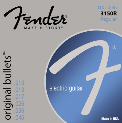 Fender Original Bullets Pure Nickel 3150R Electric Guitar (10-46)