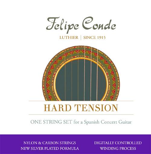 felipe conde concert hard tension carbon classical guitar strings. Black Bedroom Furniture Sets. Home Design Ideas