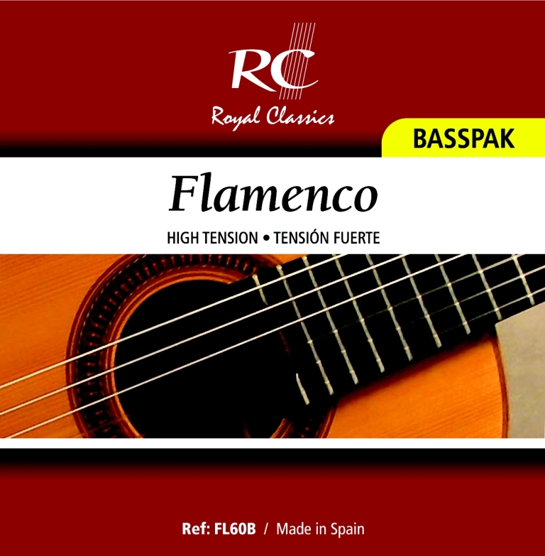 Royal Classics FL60B Flamenco High Tension, Bass Set