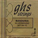 GHS Banduria Loop End 12 String Silverwound BA-12 (.011-.033)