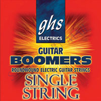 GHS Boomers Plain Steel .016 Single String