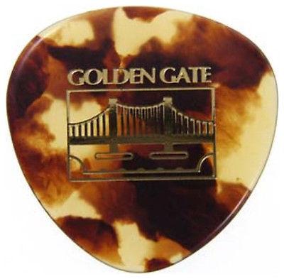 12 GOLDEN GATE MP24 MOCK TURTLE GUITAR PICKS