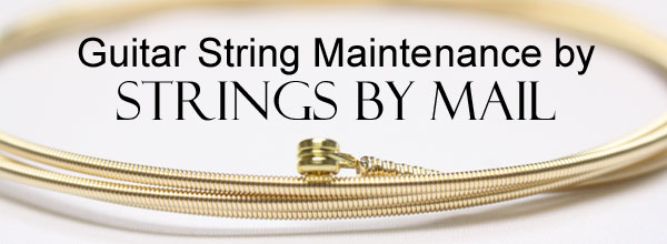 Guitar String Care and Maintenance by Strings By Mail