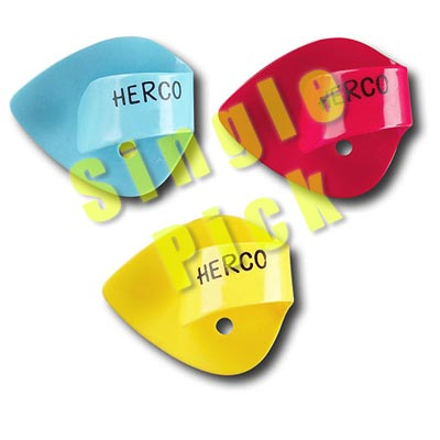 Herco HE113 Flat Thumb Pick Heavy, One Pick