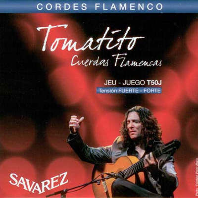 Savarez Tomatito T50J High Tension Flamenco, Full Set