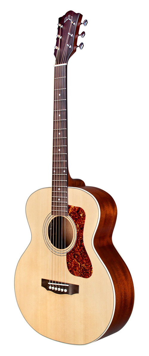 357cd94ec47 Guild Jumbo Junior Mahogany Acoustic Guitar with electronics