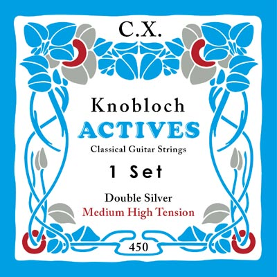 knobloch actives cx carbon mht classical guitar strings 450cx full set. Black Bedroom Furniture Sets. Home Design Ideas