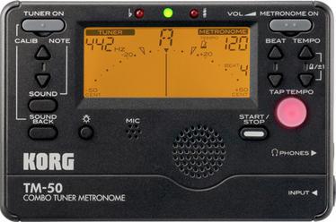 Korg Tm 50 : korg tm 50 chromatic tuner metronome with kickstand black ~ Russianpoet.info Haus und Dekorationen