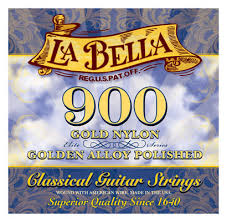 La Bella 900 Golden Superior Med-High Tension, Full Set