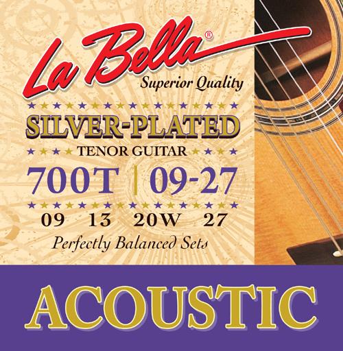 la bella 700t acoustic silver plated tenor guitar strings. Black Bedroom Furniture Sets. Home Design Ideas