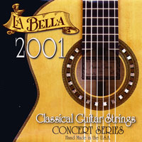 La Bella 2001 Classical 2006XH 6th string (E) extra hard tension .0445