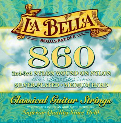 la bella 860 classical mht classical guitar strings full set. Black Bedroom Furniture Sets. Home Design Ideas