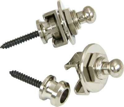 Schaller Strap Locks - Nickel