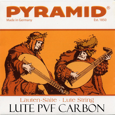 Pyramid PVF Carbon Lute 0,80 mm / 0.03149 in. single string