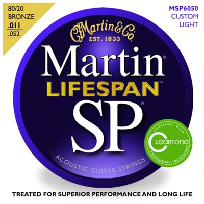 Martin MSP6050 SP Lifespan Treated Custom Light 11-52, Full Set