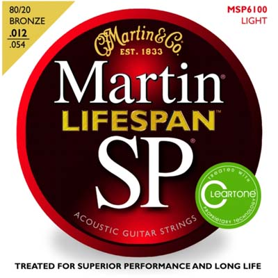 Martin MSP6100 SP Lifespan Treated Light 12-54, Full Set