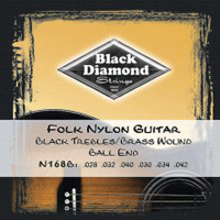 Black Diamond Folk Nylon N168B Ball end, Full Set
