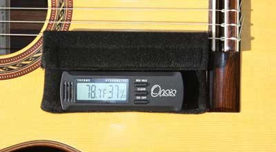Oasis Digital Hygrometer Holder for Guitars OH-20
