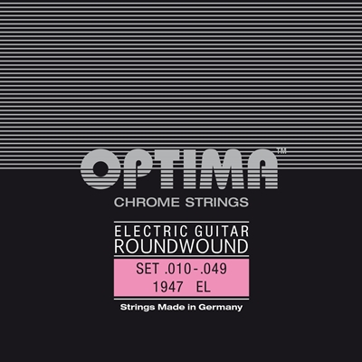 Optima Jazz Swing 1947 EL Chrome Roundwound Electric Extra Lt 11-49