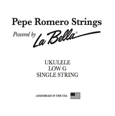 pepe romero strings low g wound single ukulele string. Black Bedroom Furniture Sets. Home Design Ideas