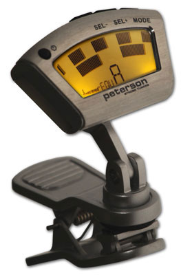 peterson strobe clip on tuner sc 1 stroboclip. Black Bedroom Furniture Sets. Home Design Ideas