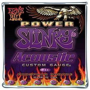Ernie Ball 2144 Power Slinky Acoustic Phosphor Bronze (13-56)