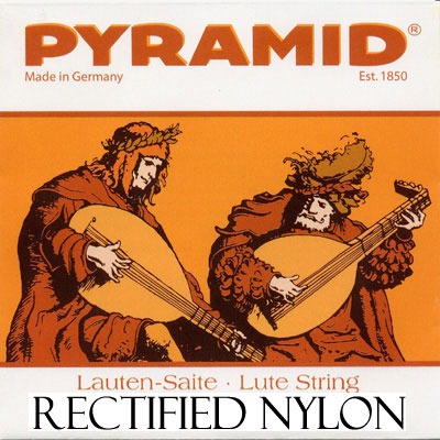 Pyramid Rectified Nylon 0,850 ( .034), single string