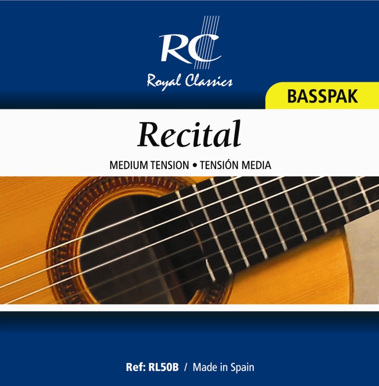 Royal Classics RL50B Recital Medium Tension, Bass Set