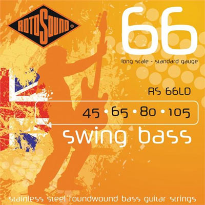 Rotosound RS66LD Swing Bass 4-String Set (45-105)