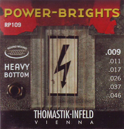 Thomastik-Infeld Power-Brights RP109 (.009 - .046), Full Set