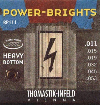 Thomastik-Infeld Power-Brights RP111 (.011 - .053), Full Set