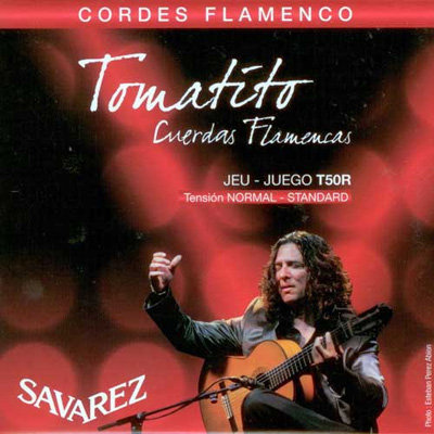 Savarez Tomatito T50R Normal Tension Flamenco, Full Set