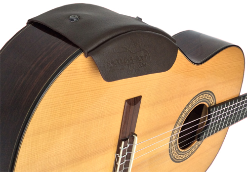 Saddle A Bout Armrest For Acoustic And Classical Guitar Small Size