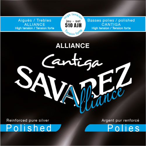 savarez 510ajh alliance cantiga polished ht classical guitar strings. Black Bedroom Furniture Sets. Home Design Ideas