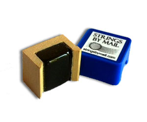 Strings By Mail Dark Mini Rosin for String Instruments