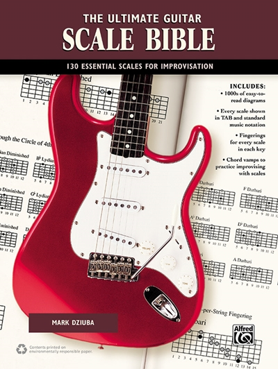 The Everything Guitar Scales Book