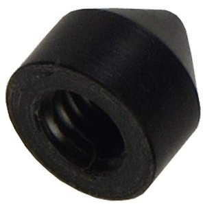 Shubb DC12 Replacement Screw Cap, Delrin, Black, One Cap