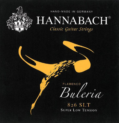 Hannabach Buleria Flamenco Super Low Tension, Full Set
