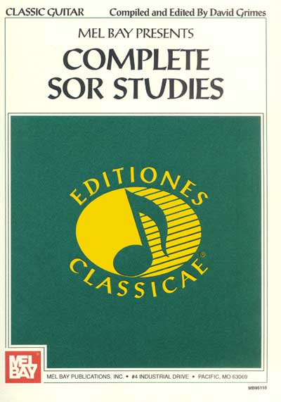 Fernando Sor | Complete Sor Studies edited by David Grimes
