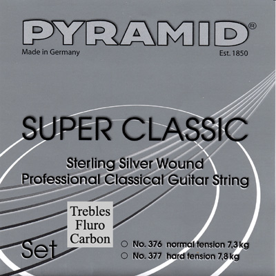 Pyramid Sterling Silver Super Classic Hard Tension, Full Set