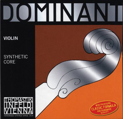 Thomastik-Infeld Dominant Violin Set 135 Ball End | Bonus e-String