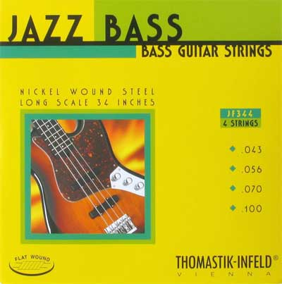 Bass Strings Thomastik : thomastik infeld jf344 flatwound 4 string long scale 43 100 ~ Vivirlamusica.com Haus und Dekorationen