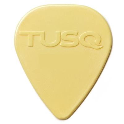 TUSQ Warm Toned Man-Made Ivory Pick, .068mm, One Pick
