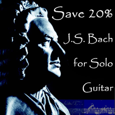 Bach for solo guitar