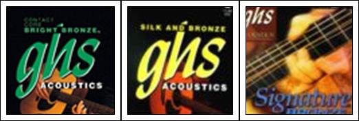 GHS Acoustic Guitar Strings